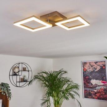 Batuna Ceiling Light LED matt nickel, 1-light source