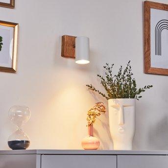 Zuoz Ceiling Light Light wood, 1-light source