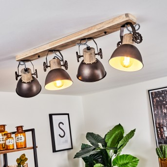 ORNY Ceiling Light brown, Light wood, 4-light sources