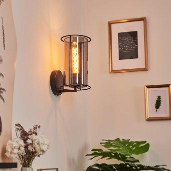 Zento Wall Light black, 1-light source