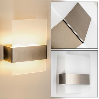 Vara Outdoor Wall Light LED stainless steel, 2-light sources
