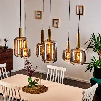 Maliali Pendant Light black, gold, 6-light sources