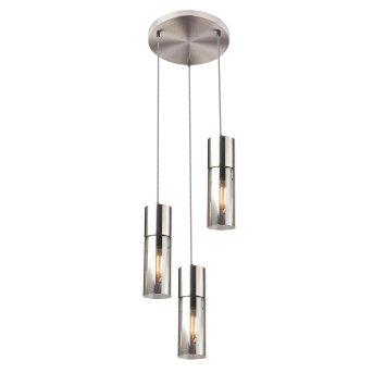 Globo ANNIKA Pendant Light matt nickel, 3-light sources