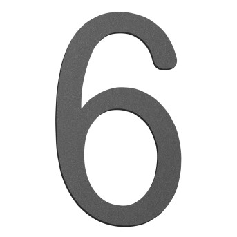CMD house number anthracite