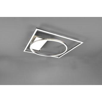 Trio Downey Ceiling Light LED matt nickel, 1-light source, Remote control