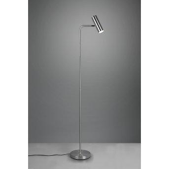 Trio Marley Floor Lamp matt nickel, 1-light source