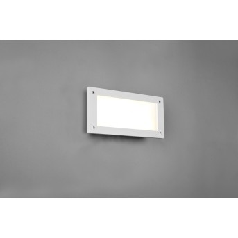 Trio Kelly Outdoor Wall Light LED white, 1-light source