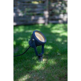Lutec MINI LETO Spike LED anthracite, 1-light source, Colour changer