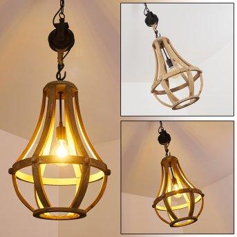 SONDERJYLLAND Pendant Light Light wood, 1-light source