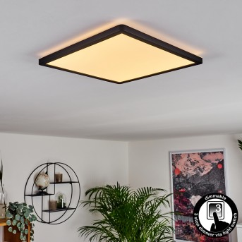 Boyero Ceiling Light LED black, 1-light source