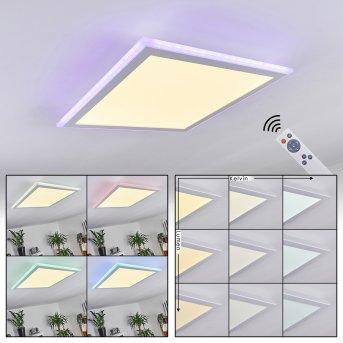 Mota Ceiling Light LED white, 1-light source, Remote control, Colour changer