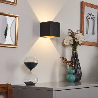 Fulufo Wall Light LED black, copper, 1-light source