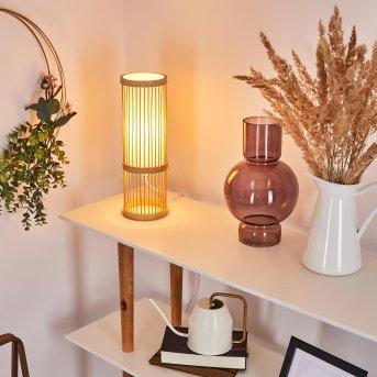 Misa Table lamp Light wood, 1-light source