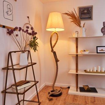 Chivos Floor Lamp black, brown, 1-light source