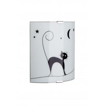 Brilliant CAT Wall Light white, 1-light source