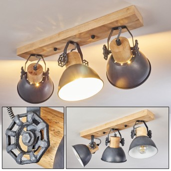 Orny Ceiling Light light wood, 3-light sources
