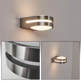 Tordillos Outdoor Wall Light LED chrome, 1-light source