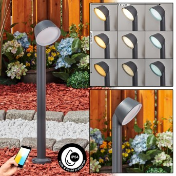 Moroni path light LED anthracite, 1-light source