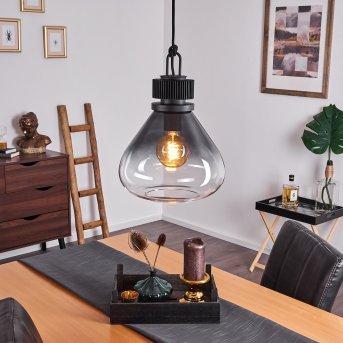 Coapilla Pendant Light black, 1-light source