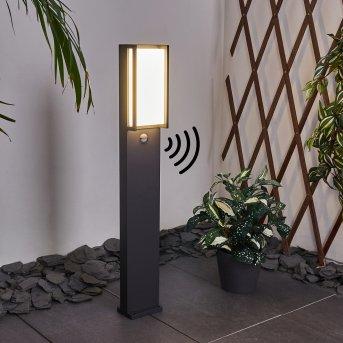 Skove path light LED anthracite, 1-light source, Motion sensor