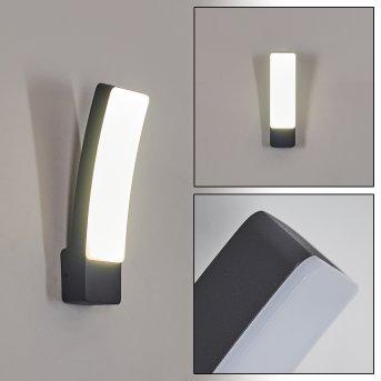 Maseru Outdoor Wall Light LED anthracite, 1-light source