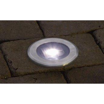 Konstsmide solar light LED stainless steel