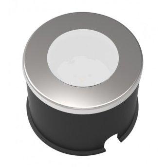 Lutec sun connec Solar HONY DECK recessed spotlight LED grey, 1-light source
