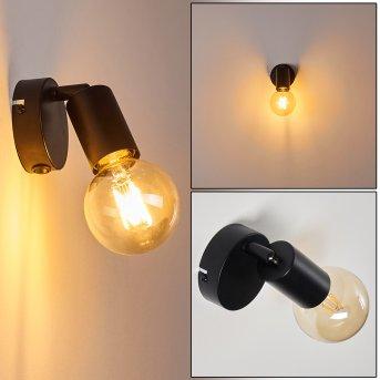 MAIDFORD Wall Light black, 1-light source