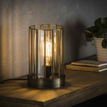 POONHAVEN Table Lamp transparent, clear, 1-light source
