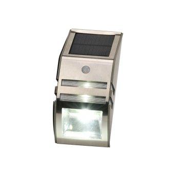 Globo LOGAN Solar Light LED black, 2-light sources, Motion sensor
