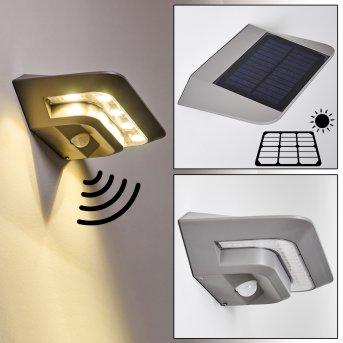 Solar light Camden LED grey, 1-light source, Motion sensor