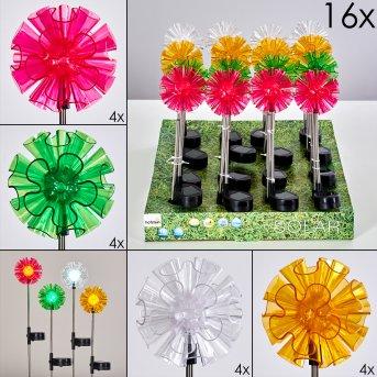 Solar light set Bouquet LED colourful, 1-light source