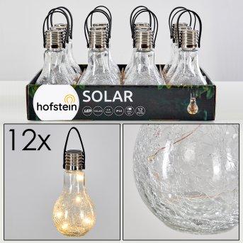 Solar light set Tian LED silver, 1-light source