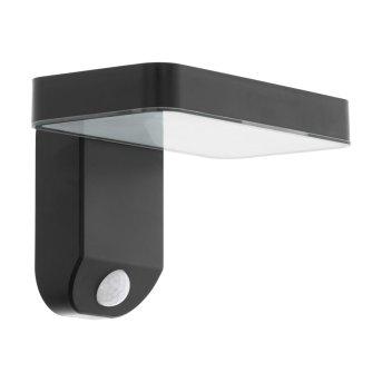 EGLO PASTION Wall Light LED black, 1-light source, Motion sensor