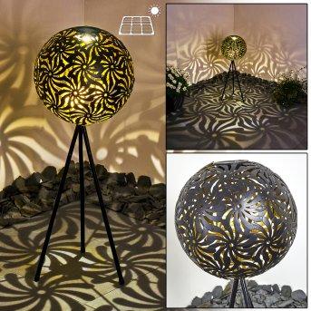Gilbert solar light LED black, 1-light source
