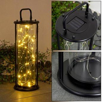 Aracaju solar light LED black, 1-light source