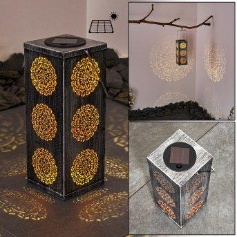 Ajman solar light LED silver, copper, 1-light source