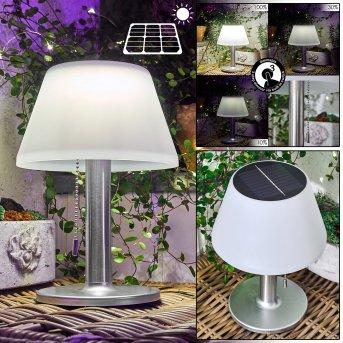 Alcudia solar light LED white, 1-light source