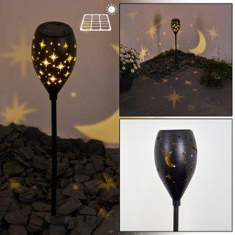 Joinville solar light LED black, 1-light source