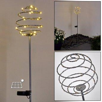 ZERMATT path light LED silver, 28-light sources