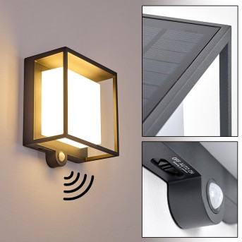 Lansing Outdoor Wall Light LED anthracite, 1-light source, Motion sensor