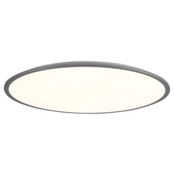 Brilliant Jamil Ceiling Light LED silver, 1-light source, Remote control