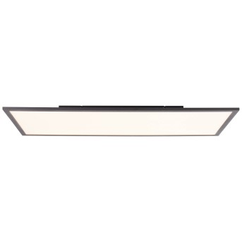 Brilliant Jacinda Ceiling Light LED black, 1-light source, Remote control