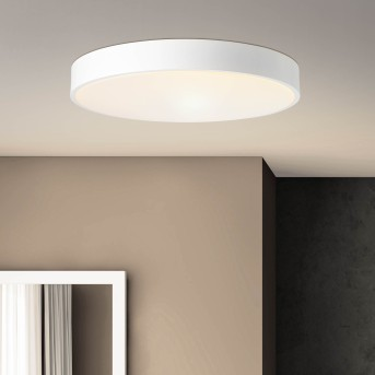 Brillliant Slimline Ceiling Light LED white, 1-light source, Remote control