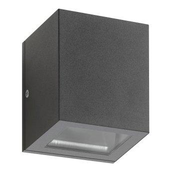 LCD 5004 Outdoor Wall Light black, 1-light source