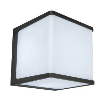 Lutec Doblo Outdoor Wall Light LED anthracite, 1-light source