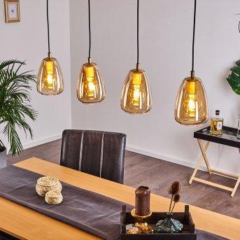 Alvares Pendant Light gold, 4-light sources