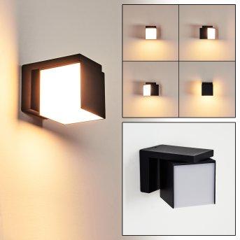 Swanek Outdoor Wall Light LED black, 1-light source