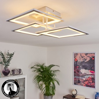 Marcus Ceiling Light LED silver, 1-light source