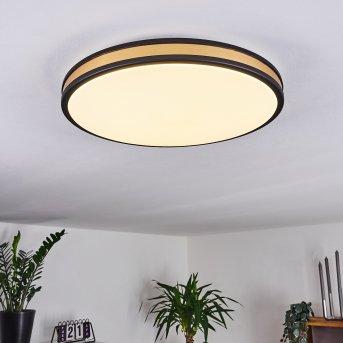 Kirtland Ceiling Light LED black, gold, 1-light source
